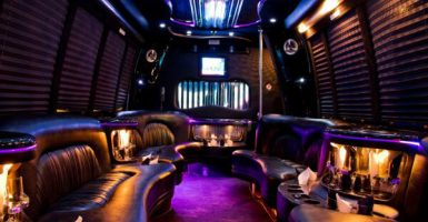15 Person Party Bus Rental El Paso