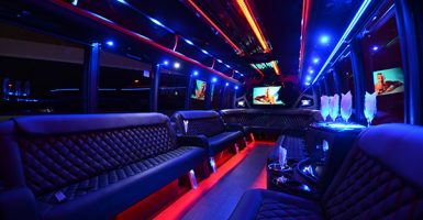 40 Passenger Party Bus Rental El Paso