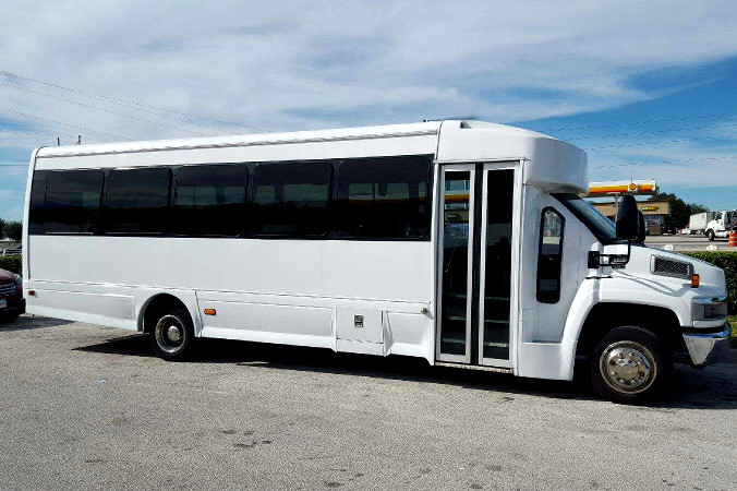 El Paso 36 Passenger Shuttle Bus