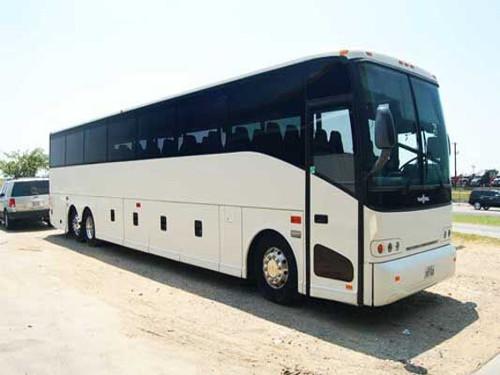 El Paso 56 Passenger Charter Bus